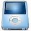 64x64px size png icon of IPod Nano Baby Blue alt