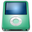 64x64px size png icon of IPod Nano Lime alt