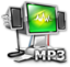 64x64px size png icon of MP3 File