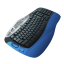 64x64px size png icon of Keyboard Blue