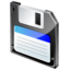 64x64px size png icon of Floppy disk