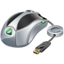 64x64px size png icon of Usb mouse