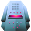 64x64px size png icon of server platinum