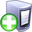 64x64px size png icon of Add server