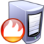 64x64px size png icon of Firewall server