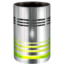 64x64px size png icon of Hardware Trash empty