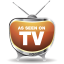 64x64px size png icon of television 02