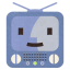 64x64px size png icon of Terebi Finder Flat