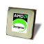 64x64px size png icon of AMD Sempron CPU