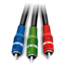 64x64px size png icon of Component video active