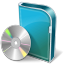 64x64px size png icon of DVD Box