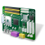 64x64px size png icon of Motherboard