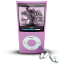 64x64px size png icon of Pink iPod4rthGen