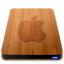 64x64px size png icon of Wooden Slick Drives   Apple