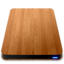 64x64px size png icon of Wooden Slick Drives   External