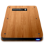 64x64px size png icon of Wooden Slick Drives   Internal