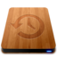 64x64px size png icon of Wooden Slick Drives   Time Machine