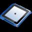 64x64px size png icon of iPod nano blue
