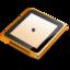 64x64px size png icon of iPod nano orange