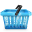 64x64px size png icon of basket