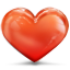 64x64px size png icon of heart clean