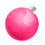 64x64px size png icon of Christmas ball pink