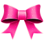 64x64px size png icon of Ribbon Pink Pattern