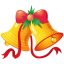 64x64px size png icon of christmas bells