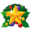 64x64px size png icon of christmas star