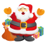 64x64px size png icon of santa gifts