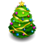 64x64px size png icon of chrismas tree