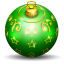 64x64px size png icon of christmas tree ball 2