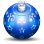64x64px size png icon of christmas tree ball 3