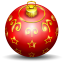 64x64px size png icon of christmas tree ball