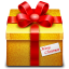 64x64px size png icon of gift 3