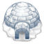 64x64px size png icon of igloo