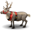 64x64px size png icon of reindeer
