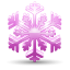 64x64px size png icon of snowflake 3
