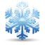 64x64px size png icon of snowflake
