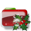 64x64px size png icon of Christmas Folder Holly 2