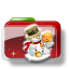 64x64px size png icon of Christmas Folder Snowman