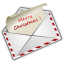64x64px size png icon of Christmas Letter