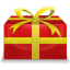64x64px size png icon of Christmas Present 1
