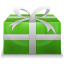 64x64px size png icon of Christmas Present 2