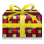 64x64px size png icon of Christmas Present 4