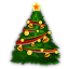 64x64px size png icon of Christmas Tree