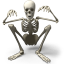 64x64px size png icon of Skeleton