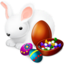 64x64px size png icon of Easter Bunny