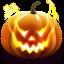 64x64px size png icon of Jack O Lantern