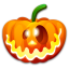64x64px size png icon of Halloween crazy
